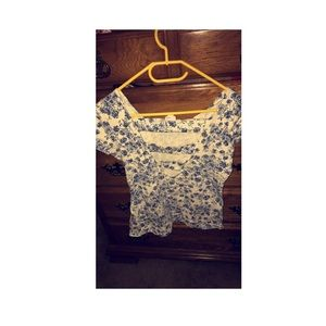 Bodycon Floral Shirt